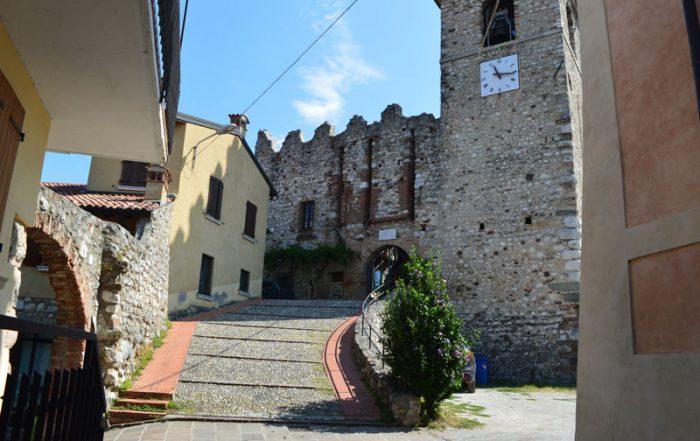 Castello di Soiano del Lago - ingresso