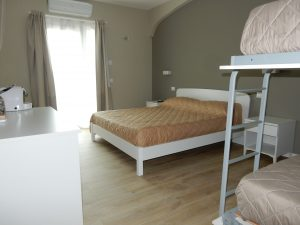 Camera quattro letti - vacanze B&B ControVento Soiano Lago di Garda
