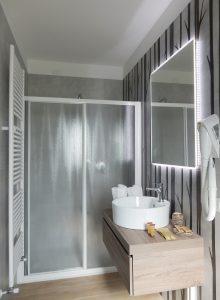 B&B ControVento Soiano Bagno con doccia Camera 2 doppia/tripla