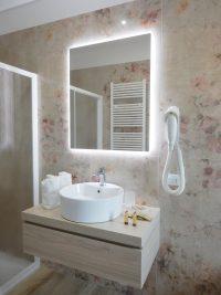 B&B ControVento Soiano Bagno con doccia Camera quattro posti letto