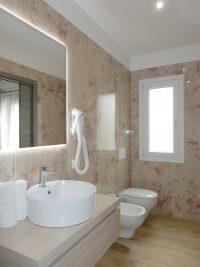 B&B ControVento Soiano Bagno con doccia Camera 4 quattro posti letto